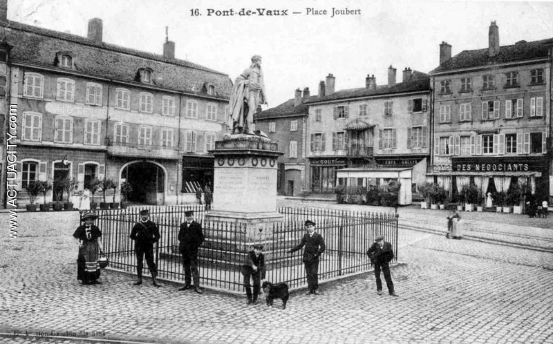 Cartes postales anciennes de pont de vaux 01190 actuacity for Piscine pont de vaux