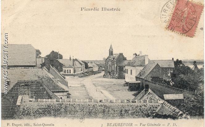 Cartes postales anciennes de Beaurevoir (02110) - Actuacity