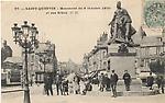 La place du 8 Octobre vers 1905.