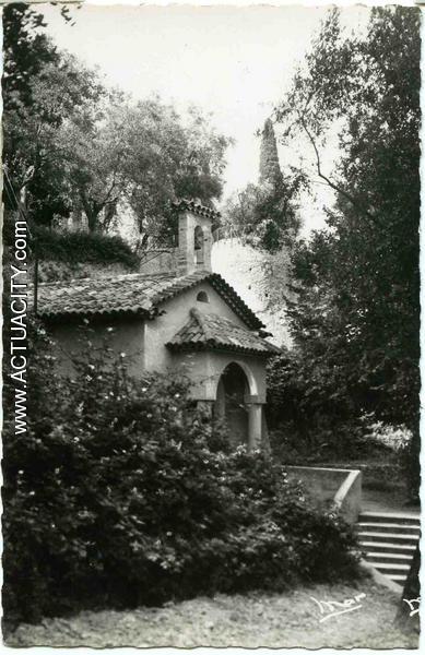 GRASSE, chapelle St Christophe