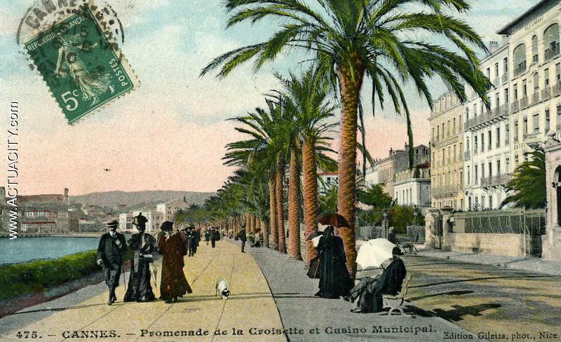 Promenade de la Croisette et Casino Municipal