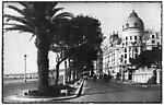 Nice - Promenade des anglais. Hôtel Negresco
