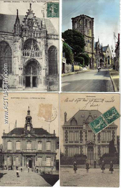 Cartes postales anciennes de rethel 08300 actuacity for 08300 rethel
