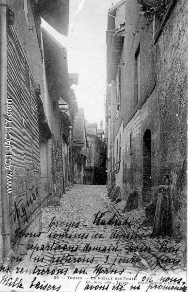 Cartes Postales Anciennes De Troyes  10000