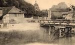 Bief et pont du moulin - noir