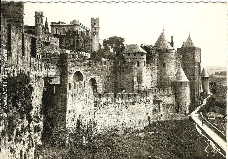 Cartes postales anciennes de carcassonne 11000 actuacity for Au jardin de la tour carcassonne