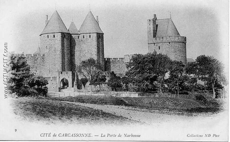 cartes postales anciennes de carcassonne 11000 actuacity. Black Bedroom Furniture Sets. Home Design Ideas