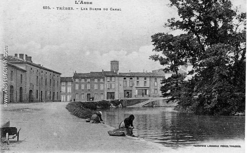 Cartes postales anciennes de tr bes 11800 actuacity for Garage du canal frouzins