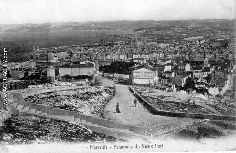 Cartes postales anciennes de marseille 13000 actuacity - Office du tourisme marseille vieux port ...