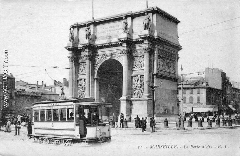 Cartes postales anciennes de marseille 13000 actuacity for Porte 4 marseille