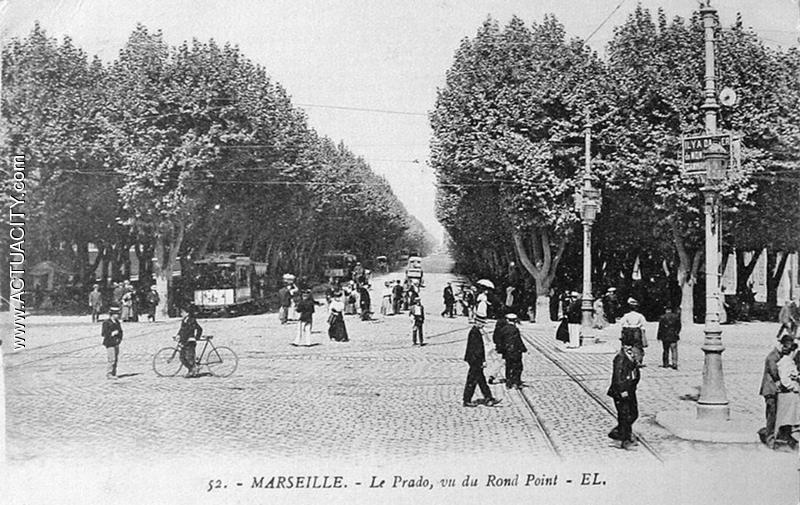 Cartes postales anciennes de marseille 13000 actuacity - Monoprix rond point du prado ...