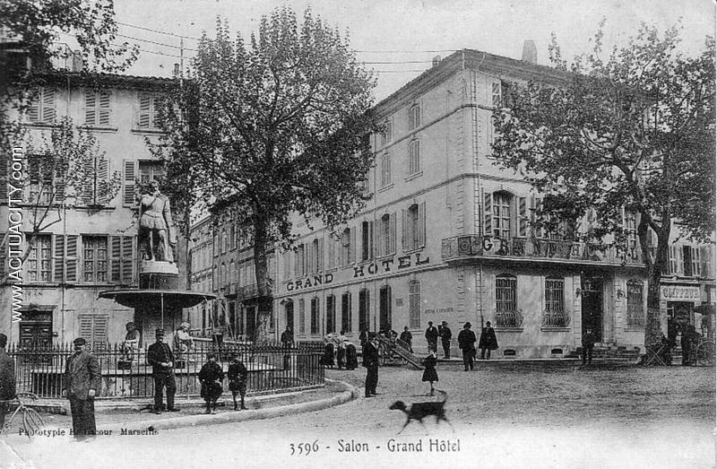 Cartes postales anciennes de salon de provence 13300 actuacity - Gendarmerie salon de provence ...