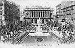 La Place de la Bourse, vers 1918