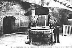 La Cour du Château d'If et la Prison de l'Abbé Faria
