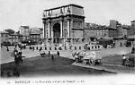 La Place d'Aix et l'Arc de triomphe