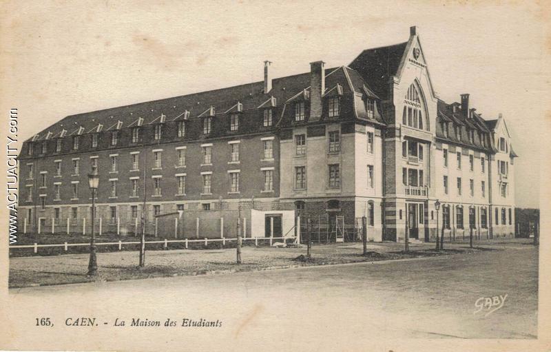 Cartes postales anciennes de caen 14000 actuacity for Maison de l etudiant caen