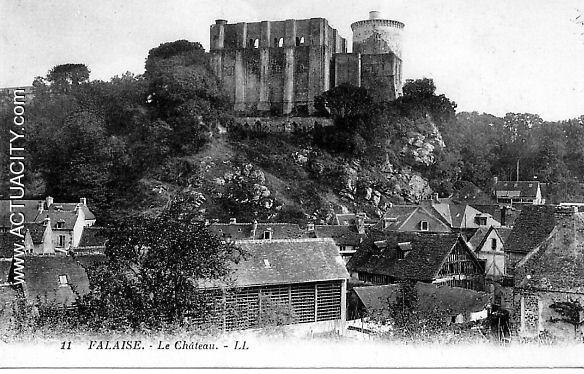 Cartes Postales Anciennes De Falaise  14700