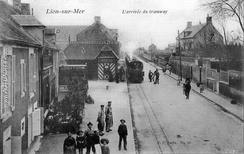 Cartes Postales Anciennes De Lion-sur-mer  14780