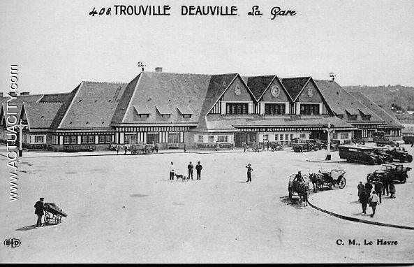Cartes postales anciennes de trouville sur mer 14360 actuacity - Office du tourisme de deauville trouville ...