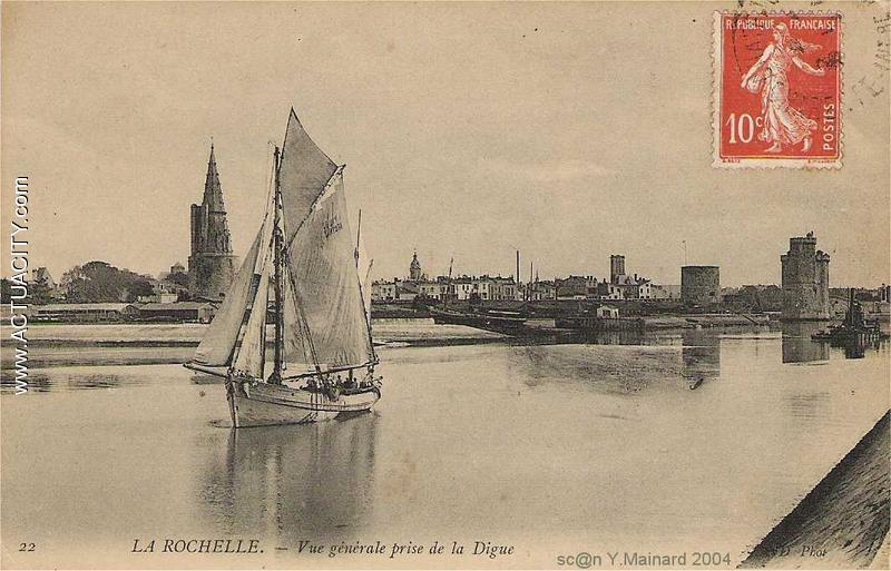Cartes postales anciennes de la rochelle 17000 actuacity for Porte vue 60 pages