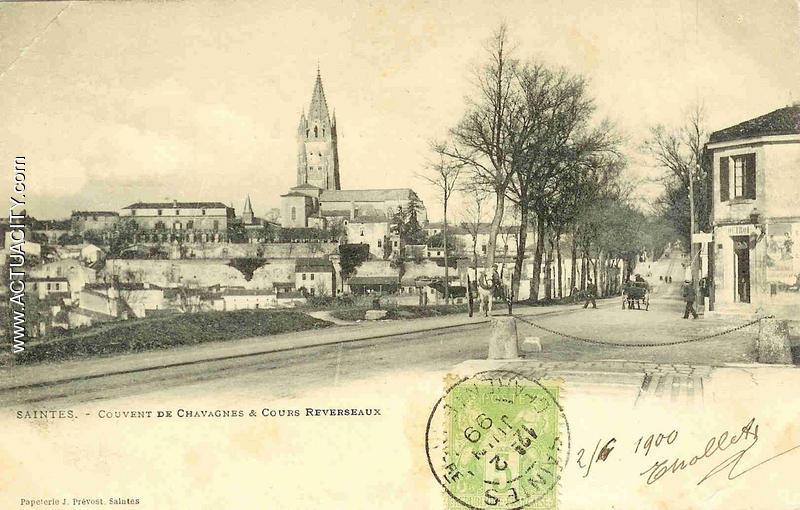 Saintes - Couvent de Chavagnes & Cours Reverseaux