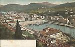 Nice, le Port avec l`observatoire