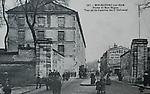 Porte et rue Bégon . Vue de la Caserne du 3° Colonial