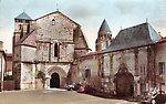 Eglise de Saint Palais Au fond, Sainte Marie des Dames