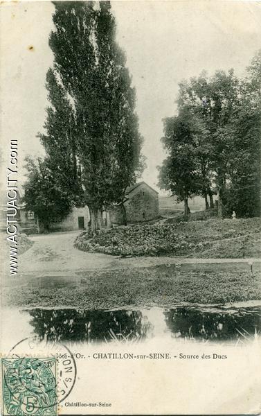 Cartes postales anciennes de ch tillon sur seine 21400 for Garage volkswagen chatillon sur seine