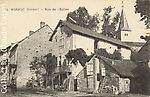 Marsac - Rue de l'église