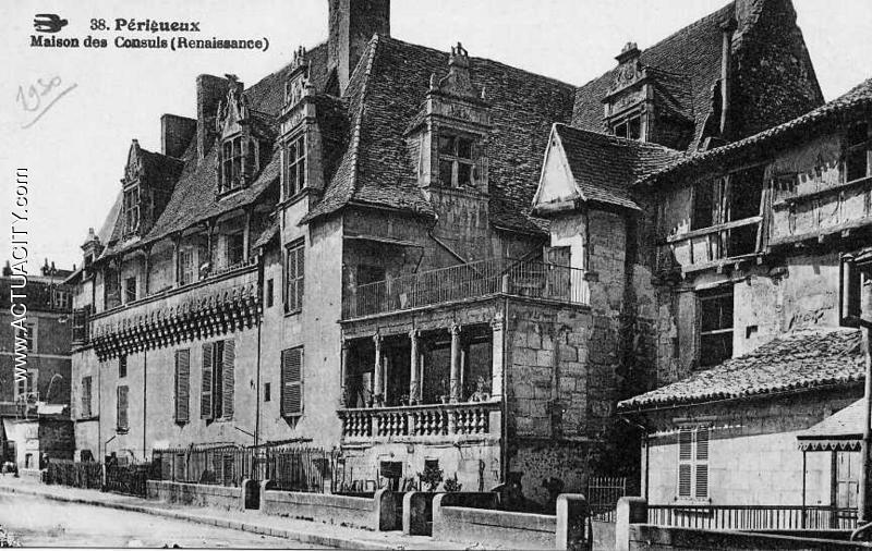Cartes postales anciennes de p rigueux 24000 actuacity - Photos maisons anciennes ...