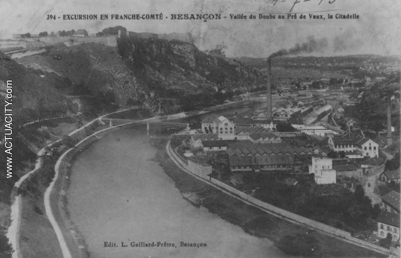 Cartes postales anciennes de besan on 25000 actuacity for Code postal de besancon