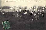 4e régiment d'artillerie au Polygone