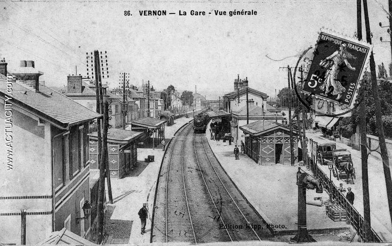 Cartes postales anciennes de vernon 27200 actuacity for Garage ford vernon 27200