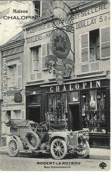 maison Chalopin fabrique de voitures