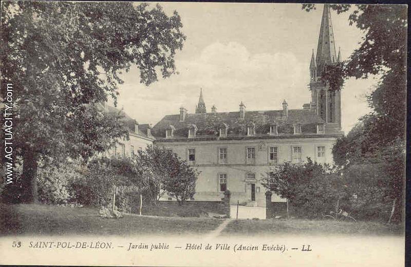 Cartes postales anciennes de saint pol de l on 29250 for Entretien jardin st pol de leon