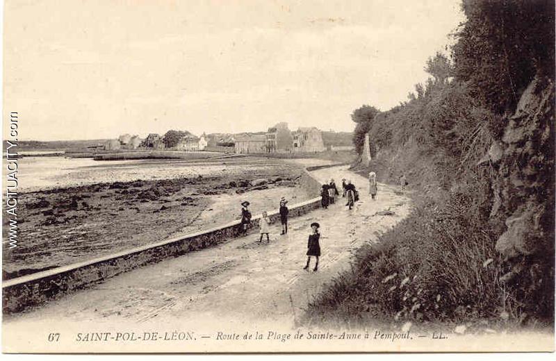 Cartes postales anciennes de saint pol de l on 29250 for Garage renault st pol de leon