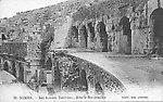 L'amphithéâtre, vers 1910