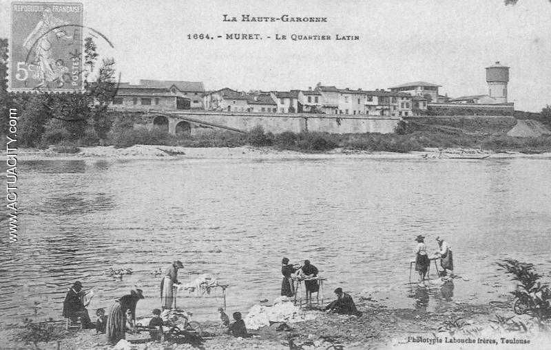 Cartes postales anciennes de muret 31600 actuacity for Piscine quartier latin