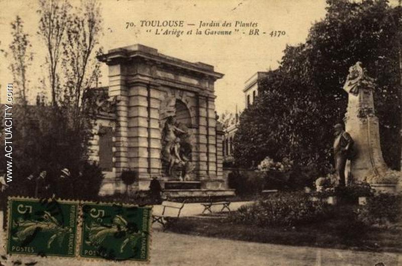 Cartes postales anciennes de toulouse 31000 actuacity - Toulouse jardin des plantes ...