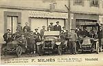 Ecole de Chauffeurs F. Milhès Auto-école vers 1912