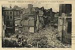 N&B-Catastrophe de la Dalbade-Les ruines après l'écroulement du clocher (11 avril 1926)