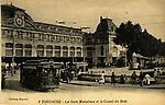 N&B-2-Gare Matabiau et canal du Midi (+tramway)