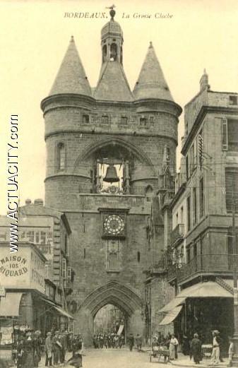 Cartes postales anciennes de bordeaux 33000 actuacity for Appartement bordeaux grosse cloche