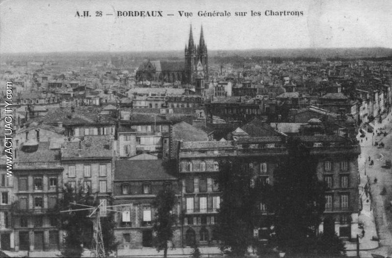 Vue générale sur les Chartrons