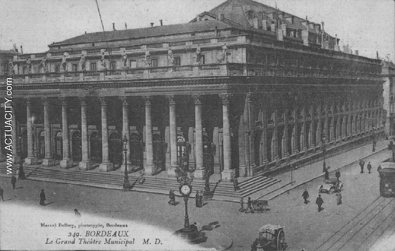 bordeaux - grand theatre municipal