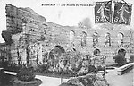 Le Palais Gallien en 1908 [cachet de la poste]