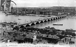 Le Pont et la ville pris de la Tour Saint Michel