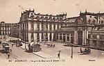 BORDEAUX La Gare du Midi vers le départ