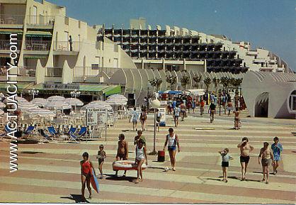 Cartes postales anciennes de la grande motte 34280 - Agence immobiliere la grande motte couchant ...